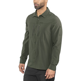 Craghoppers NosiLife Pro III T-shirt à manches longues Homme, dark khaki